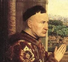 """The """"bowl"""" haircut with the back of the neck shaved was popular in mid-1400's. 1435"""