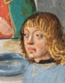 Man with bangs and shoulder length hair, 1479
