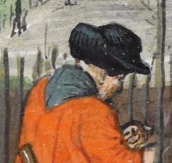 Peasant in a black hat, c. 1485-1490