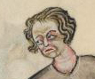 Man with hair that ends just under the ears, c. 1325-1340