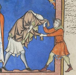 France, Paris, ca. 1244-1254 MS M.638 fol. 28v