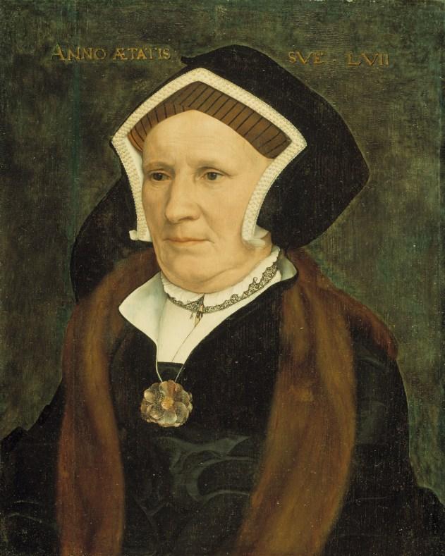 Gable hood of c. 1543