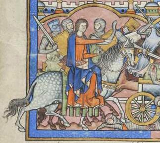 France, Paris, ca. 1244-1254 MS M.638 fol. 12r