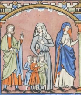 France, Paris, ca. 1244-1254 MS M.638 fol. 19v