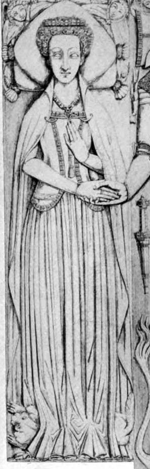 Sideless surcote, 1391