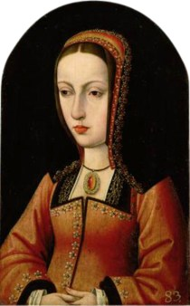 Joanna around the time of her marriage, c. 1496.