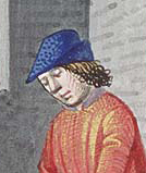 Man wearing a bycote, c. 1475-1480