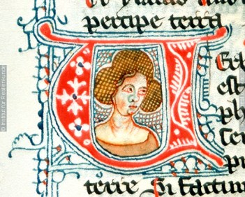 1341, Austria, St. Pölten Herward von St. Andreae unspecified manuscript, initial V