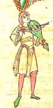 England c.1125. Arundel 91 BL