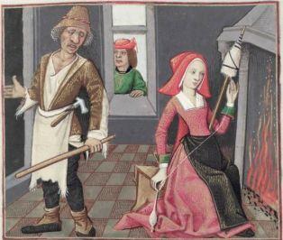 [folio 060v] MS. Douce 195 (Le roman de la rose) Robinet Testard. 1400's