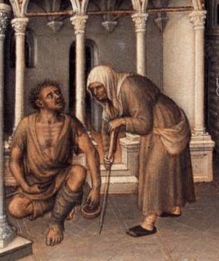 Beggers, 1423, Gentile da Fabriano_- Presentation of Christ in the Temple, 1423