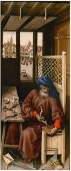 Carpenter, c. 1425-1428 The Mérode Altarpiece - Joseph As A Medieval Robert Campin