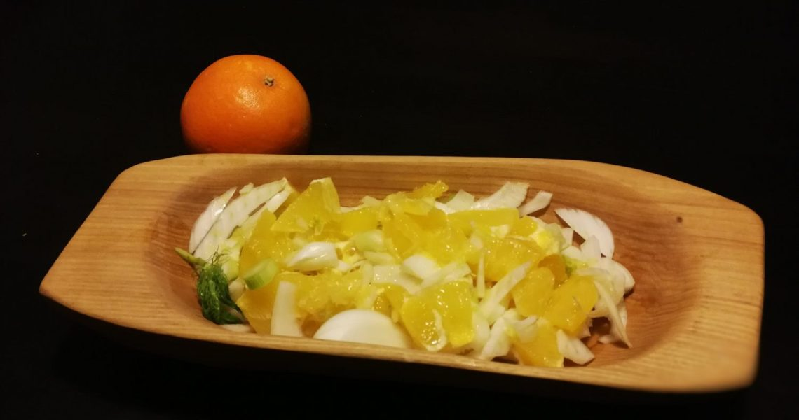 Quick Fennel and Orange salad