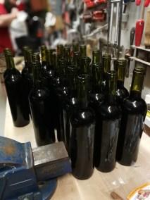 So many bottles!