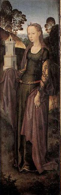 Triptych Of Adriaan Reins Hans Memling Date: 1480