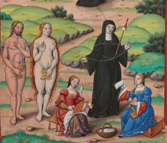 Chants royaux sur la Conception, couronnés au puy de Rouen de 1519 à 1528. Publication date : 1501-1600