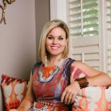 Holly Hickey Moore shops local first