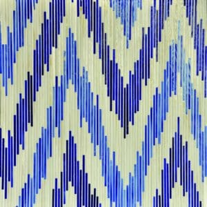 Pamir, a handmade jewel glass mosaic shown in Quartz, Iolite and Lapis Lazuli, is part of the Ikat Collection by Sara Baldwin for New Ravenna Mosaics.Take the next step: prices, samples and design help, http://www.newravenna.com/showrooms/