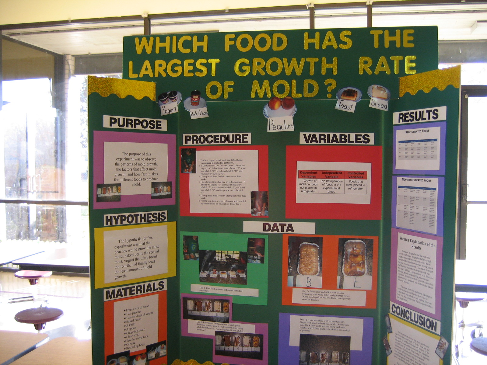 Which Food Has The Largest Growth Rate Of Mold