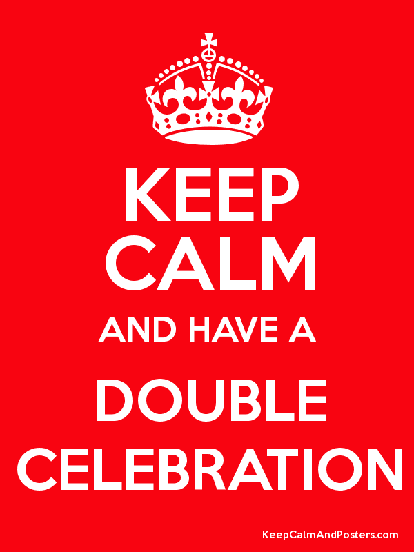 Image result for A double celebration