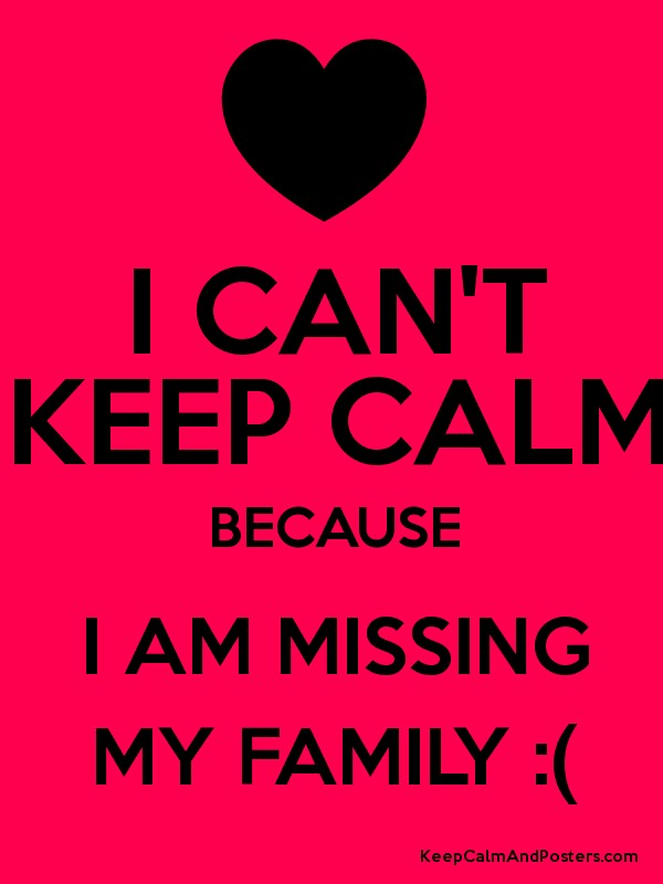 Image result for Missing My Family Picture