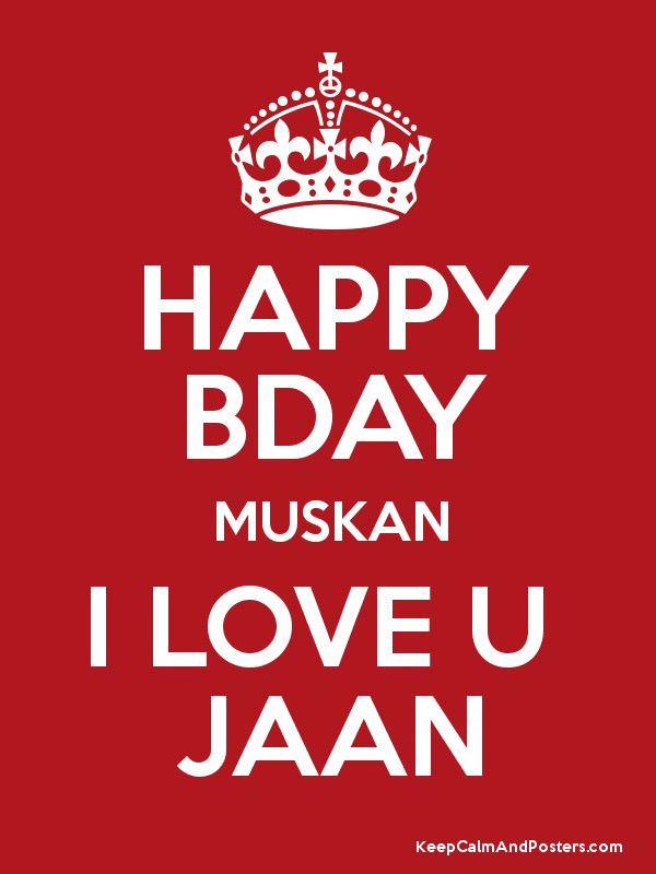 Happy Birthday Cake Muskan