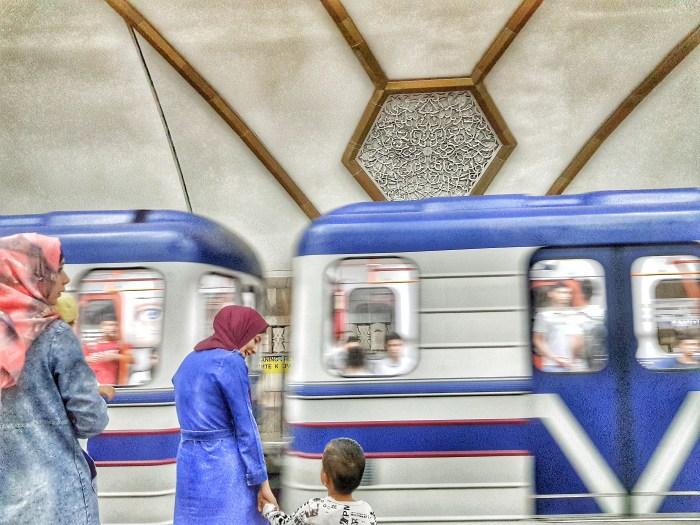 Novsa metro station, Tashkent Photo by Freda Hughes