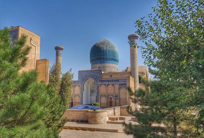 Gur-Emir Mausoleum  Photo by Freda Hughes