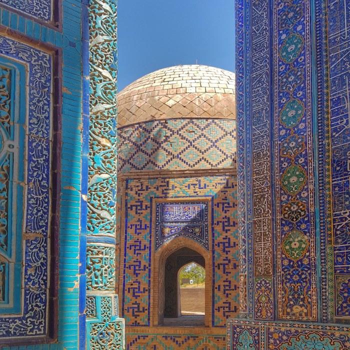 Shah-i Zinda  Photo by Freda Hughes