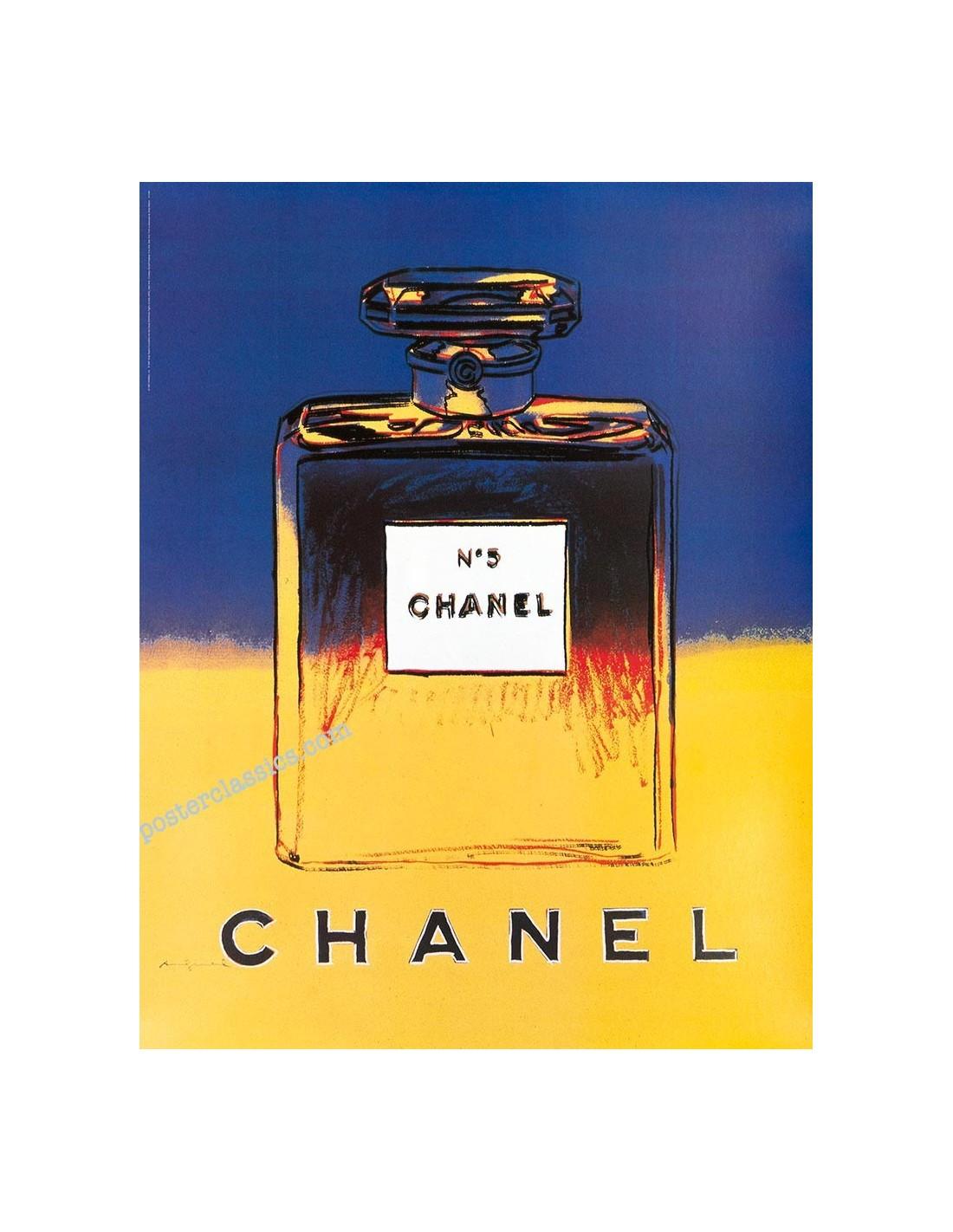 andy warhol chanel n5 perfume complete