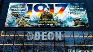 Outdoor Movie Billboard