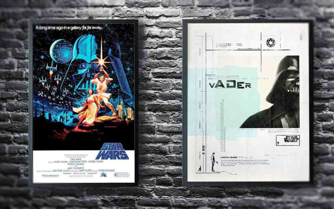 The Difference Between Commercial Movie Posters and Fan Art