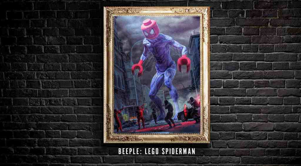 Beeple Lego Spiderman