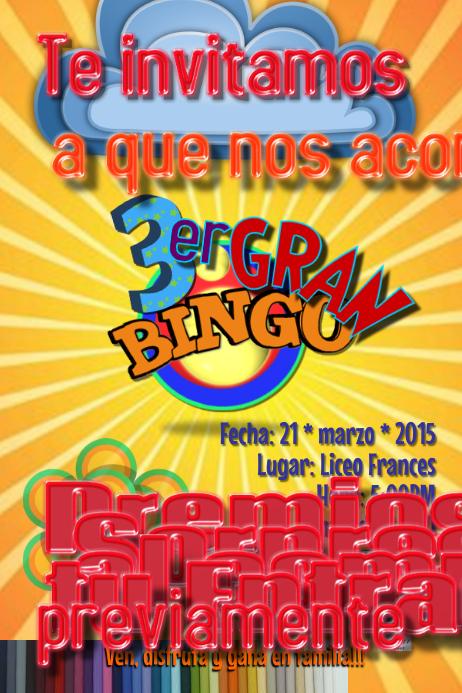 Bingo Flyer Template PosterMyWall