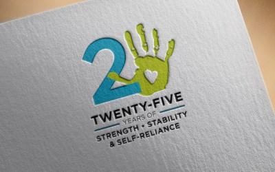Habitat for Humanity 25th Anniversary Logo