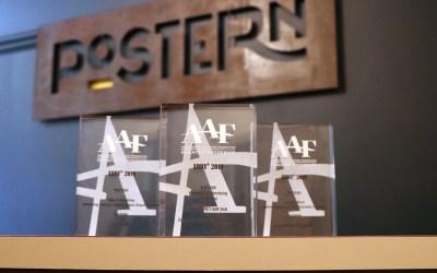 Postern Wins 3 Silver ADDY Awards!