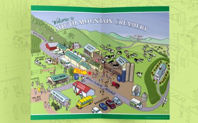 South Mountain Creamery – New Guide Booklet and Signage
