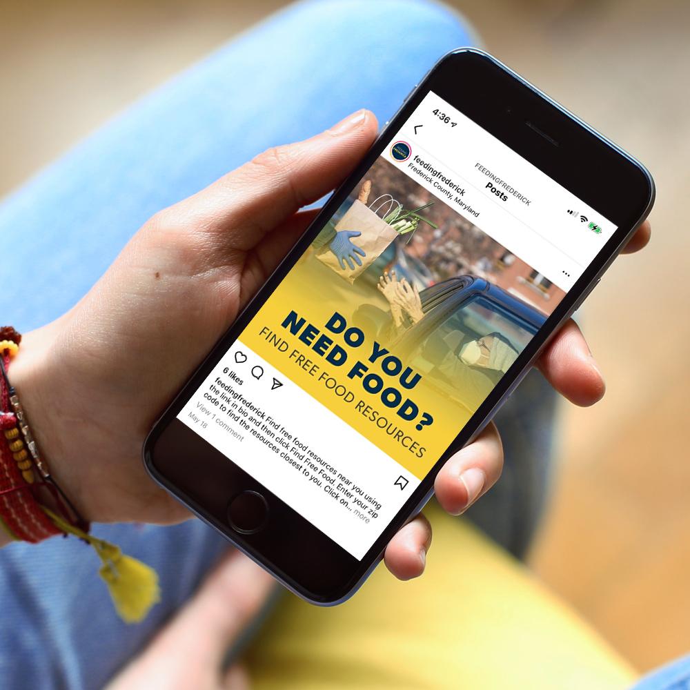 feeding frederick mobile website