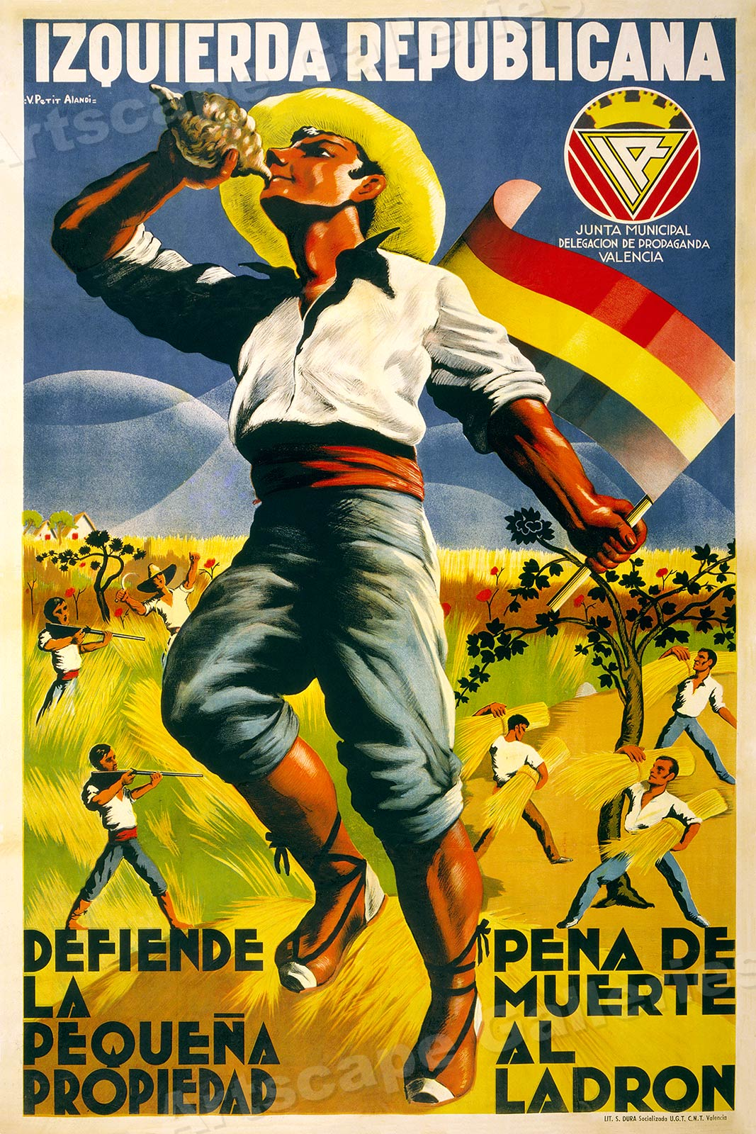 S Spanish Civil War Poster