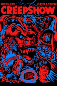 """Creepshow Print for Hero Complex Gallery's """"King for a Day"""" Show"""