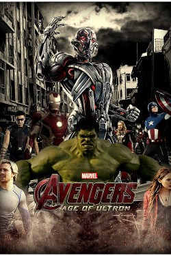 Avengers Age of Ultron poster (fan-made)