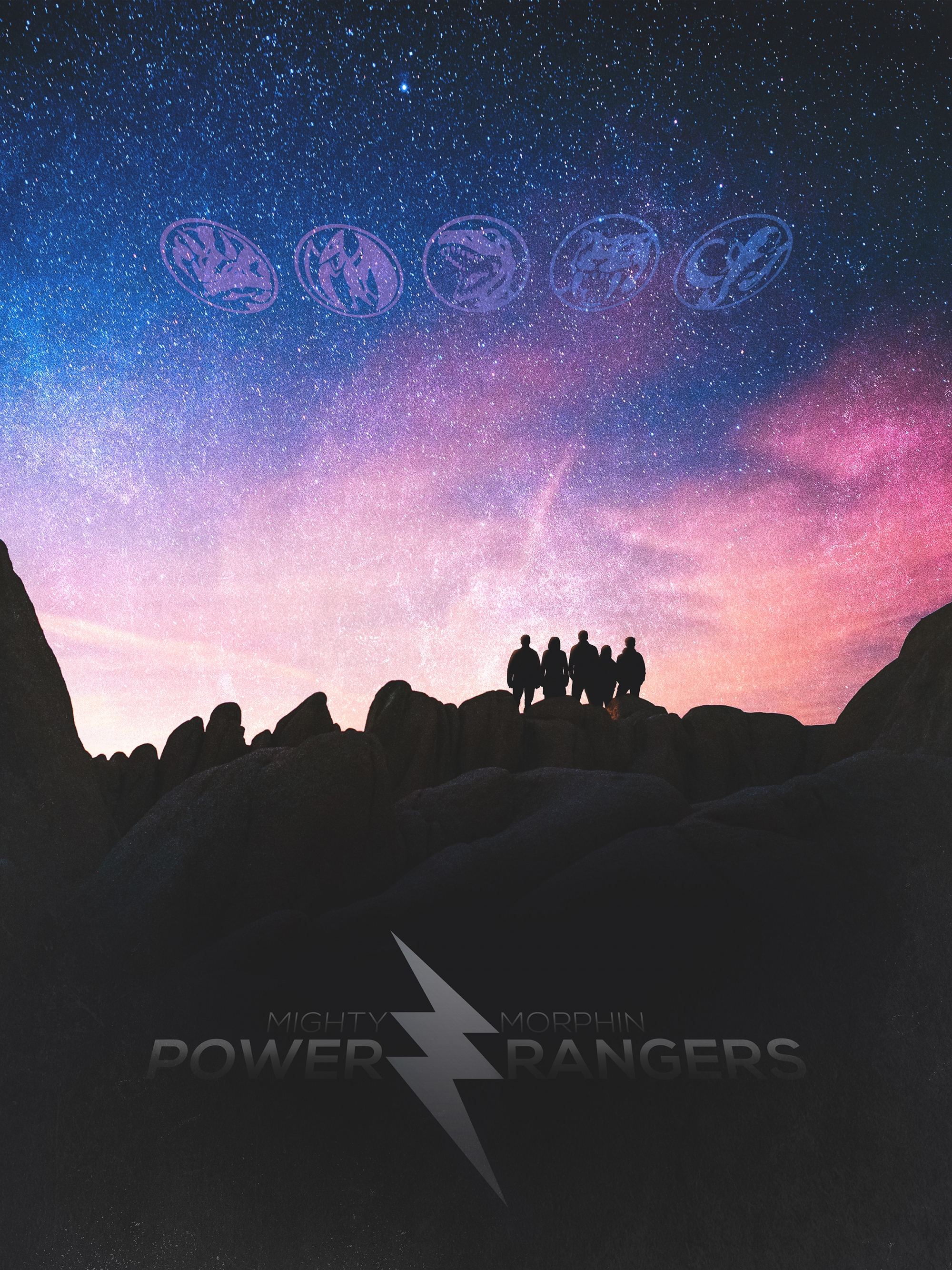 mighty morphin power rangers posterspy