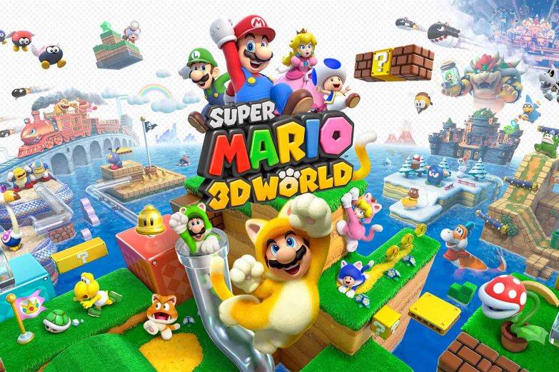 uper Mario 3d world Postgame