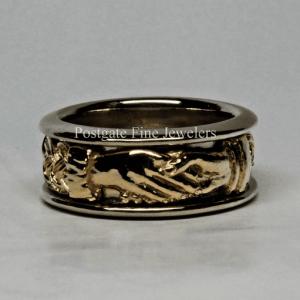 knot band Archives - Postgate Celtic Jewelry Scottish