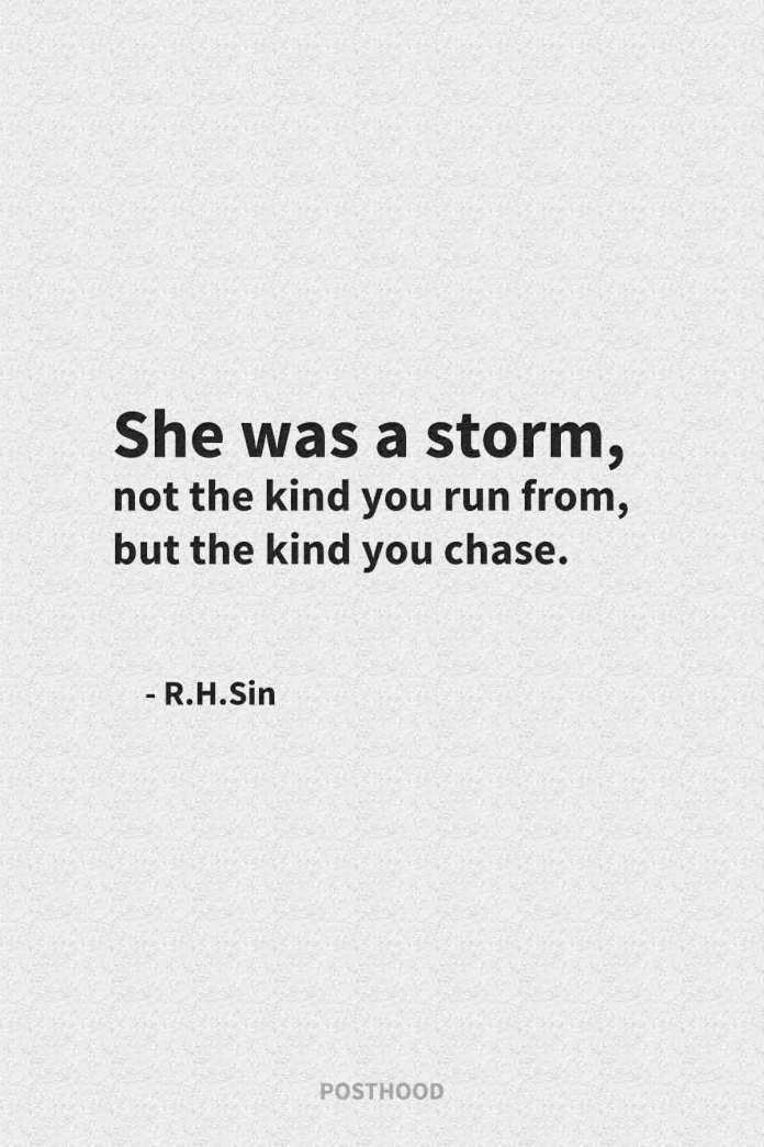 R.H.Sin quotes to help cleanse your soul and let go of the past to move on. Motivational quotes about strong women.