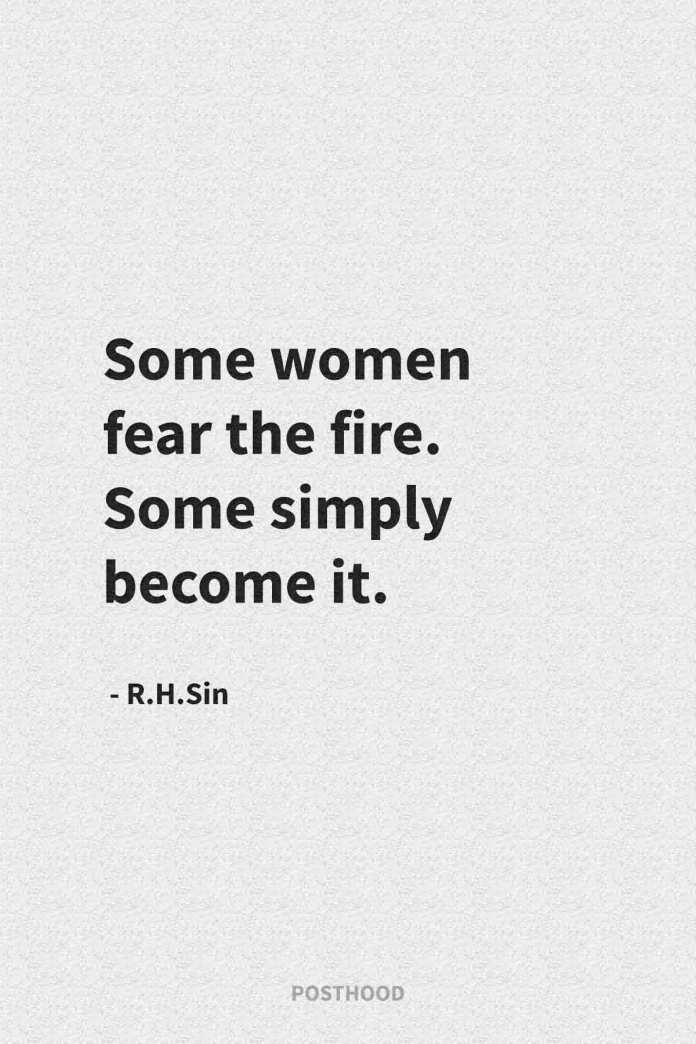 40 best R.h.sin quotes about how strong women should think and feel about themselves. Best relationship quotes.