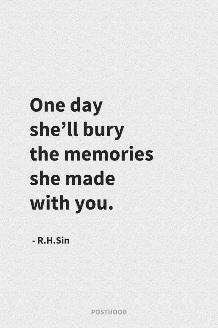 Permit yourself to walk away from a toxic relationship with these encouraging quotes of R.H.sin. 40 quotes to heal your soul after a heartbreak.