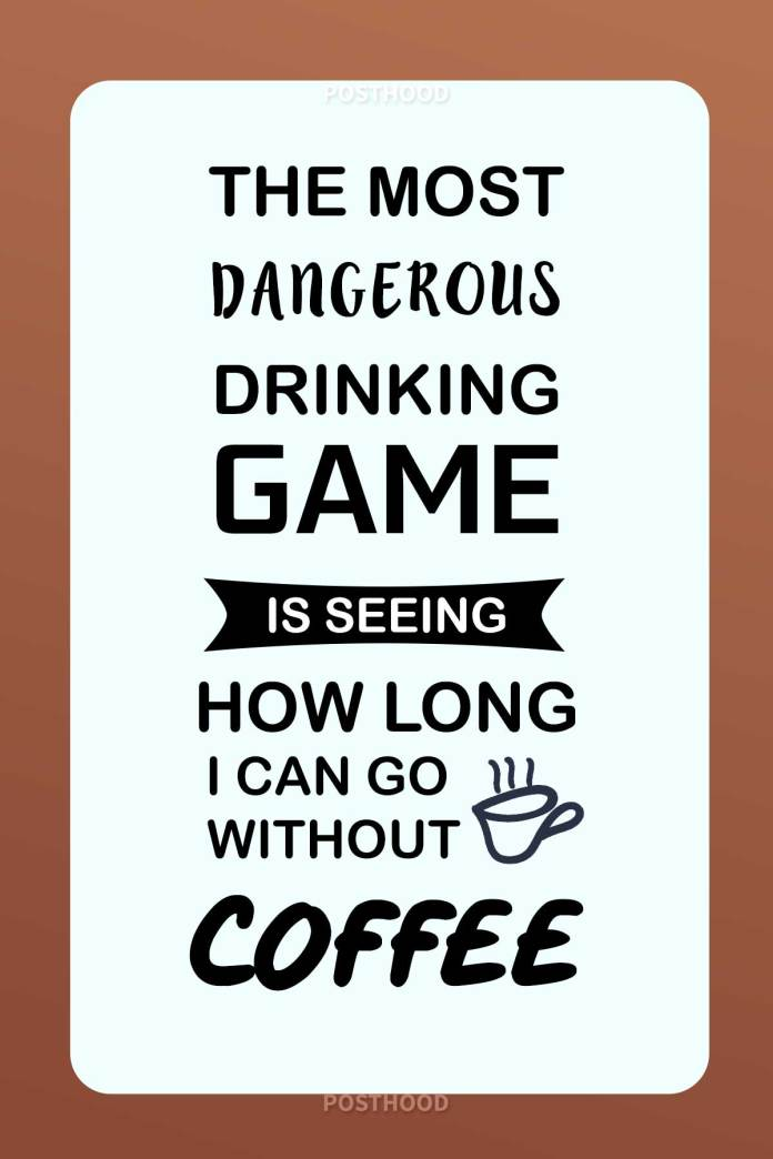 80 hilarious coffee quotes that will show how your crazy attitude if you don't have your coffee for the day. Fun coffee quotes to share.