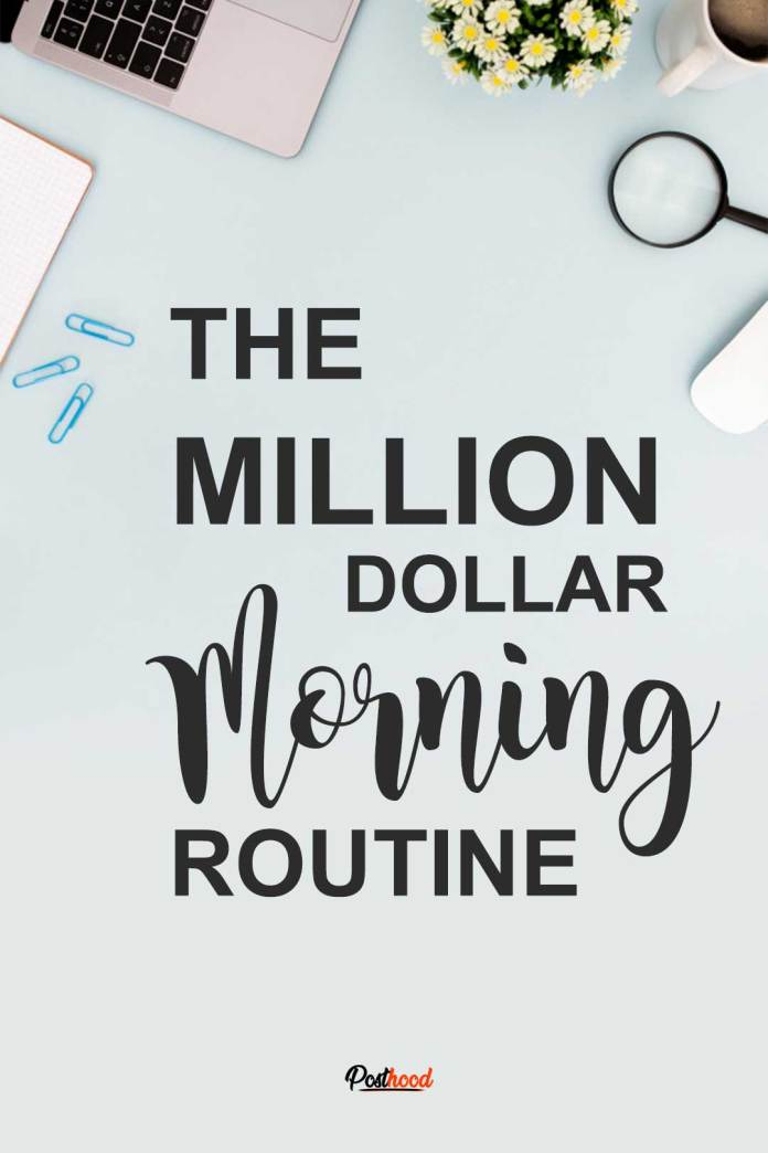 Have you ever tried to make your morning routine a million-dollar morning? Develop these 6 habits to 10X your productivity. Adopt habits of 6 figure earner.