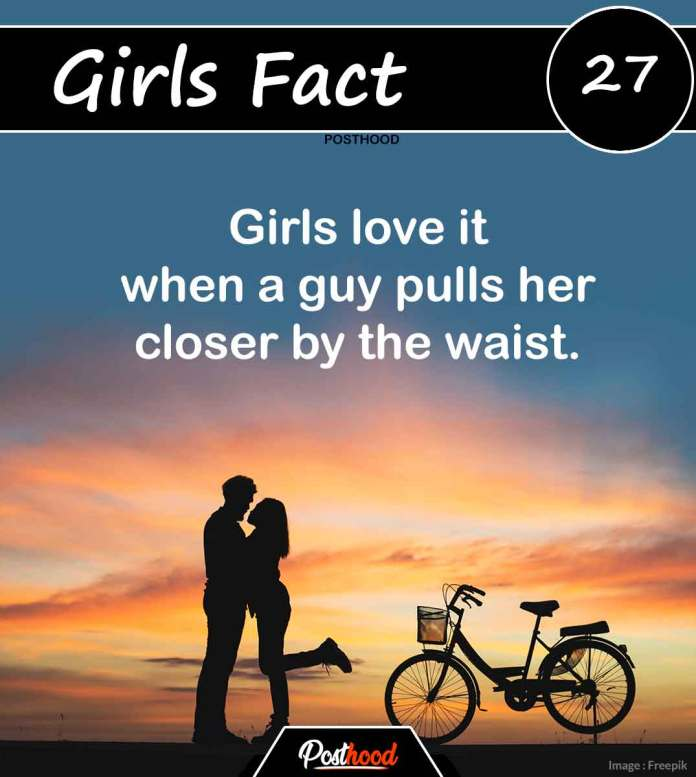 80 Psychological facts about girls' love and feelings. Know what Turn-On and Off a girl when she is in love. Amazing women facts that every guy should know.